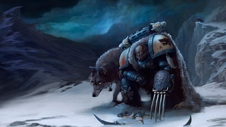 space wolves, космодесантник, warhammer, 40k