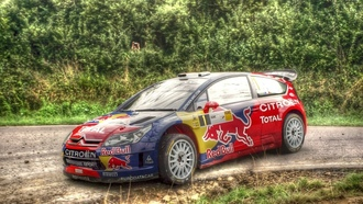 races, асфальт, HDR фотографии, гонки, sports, asphalt, Германия, спорт, Loeb, racing, rally cars, WRC, дороги, Red Bull, Germany, ралли автомобилей, HDR photography, roads
