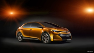Toyota, концепт-кары, TOYOTA Corolla Furia, concept cars, Toyota Corolla
