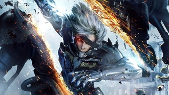 видео-игры, video games, Raiden, Metal Gear Rising: Revengeance