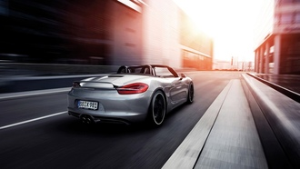 Движение, Porsche Boxster, TechArt, 2013, Motion