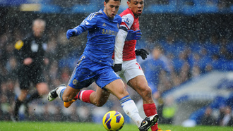 мяч, eden hazard, chelsea, arsenal
