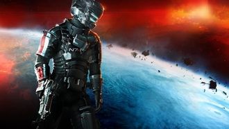 dead space 3, mass effect 3, броня n7, n7 armor, dlc
