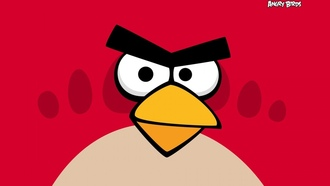 angrybirds, game, red