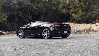 lamborghini, ламборгини, lp560-4, black, gallardo