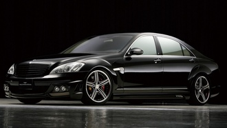 benz, wald, tuning, sport, s, mercedes, black bison