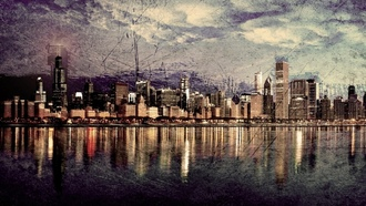 photography, chicago, skylines, cityscapes, чикаго
