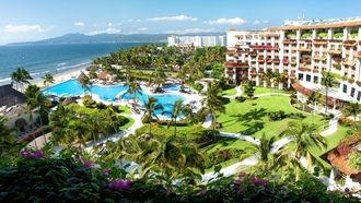 resort, hotel, mexico, pool, puerto vallarta, riviera