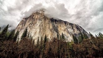 mountains, El Capitan, Yosemite National Park, горы