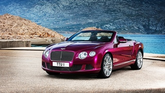 Bentley Continental GT, convertible, Bentley Continental, кабриолет, Bentley