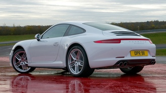 porsche, carrera 4, coupe, 911, white, wallpapers, car, auto