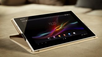 sony, планшет, android, xperia tablet z, стильный