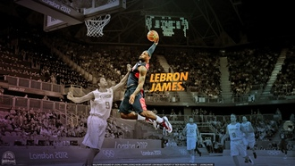 dunk, NBA, НБА, Big, basketball player, баскетболист, Lebron James, Большой, Dunk, Леброн Джеймс