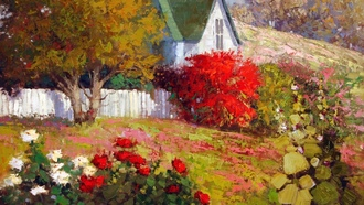 country spring, арт, sean wallis