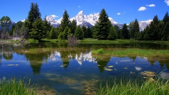 пейзажи, National Park, grand teton national park, nature, Гранд Тетон Национальный парк, национальный парк, озера, lakes, landscapes, природа