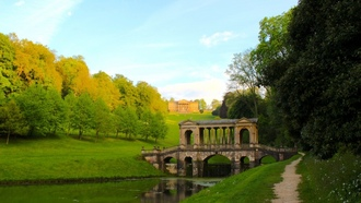 bath spa, uk, пейзаж, palladian bridge