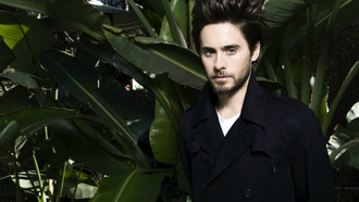 зелень, 30 seconds to mars, листья, джаред лето, Jared leto