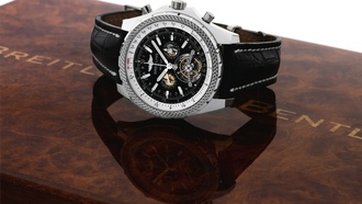 aph with tourbillon, breitling for bentley, Часы, breitling, platinum mulliner chronogr