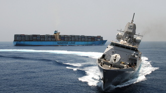 conteinership, Ships, military, list, maersk, sea, fregat, circulation, bow, weapon, f805
