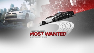 еа, гонки, Need for speed most wanted 2, фон, надпись