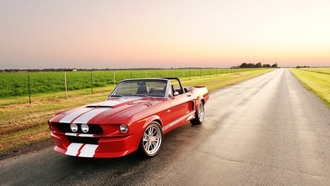 gt, ford, mustang, мустанг, Classic recreations, convertible, shelby, форд, 500cr