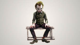heath ledger, joker, The dark knight, джокер, хит леджер