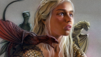 daenerys targaryen, Игра престолов, emilia clarke, series,  hbo, game of thrones