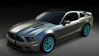 мустанг, build, sema, powered by women, mustang, форд, Ford, передок