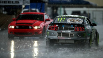 rain, tuning, ртр, Ford, mustang, monster energy, team, rtr, мустанг, lightsфорд