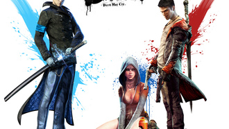 vergil, меч, верлигий, dante, devil may cry 5, Dmc, kat, пистолеты