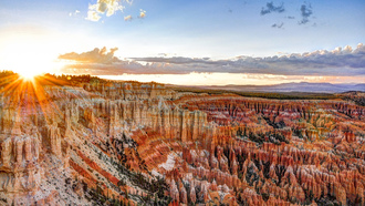 bryce canyon national park, сша, штат юта, Usa, state utah