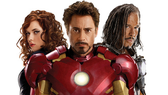 tony stark, Iron man 2, актер, robert downey jr., black widow, scarlett johansson