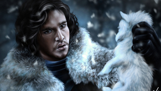дозор, парень, Jon snow, game of thrones, лицо, игры престолов