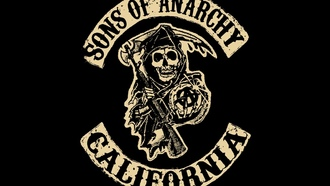 Sons of anarchy, сериал, дети анархии, сыны анархии, логотип