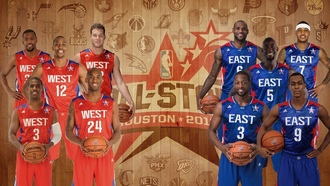 west, баскетбол, kobe bryant, nba, kevin durant, chris paul, east, all stars