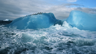 arctic, blue, cold, ice, water