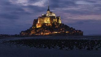 le mont-st.-michel, france, basse-normandie