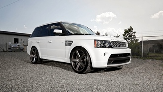 wheels, beautiful, vossen, desktop, automobile, rover, sport, white, land, wallpapers, cars, tuning