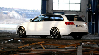 sport car, audi, white car, rs6
