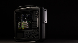 компьютер, стильный, pc, nvidia, geforce gtx titan, мощный