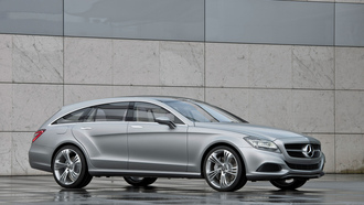 машина, mercedes-benz cls shooting break concept, car