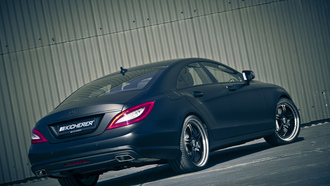 kicherer, mercedes cls edition black, машина, tuning, car, 3000x2000