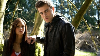 нина добрев, paul wesley, elena gilbert, the vampire diaries, дневники вампира, nina dobrev, актер, пол уэсли, актриса, stefan salvatore