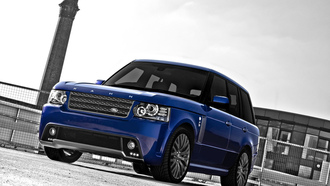 джип, rs450, синий, project kahn bali blue, land rover, range rover, ровер