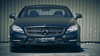 2995x2000, kicherer, mercedes cls edition black, машина, tuning, car