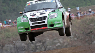 skoda - azores rally 2010, german car scene, intercontinental rally challenge, skoda fabia s2000