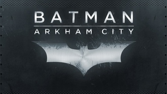 логотип, city, archam, batman