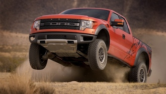 ford, f-150, svt, raptor, price, прыжок