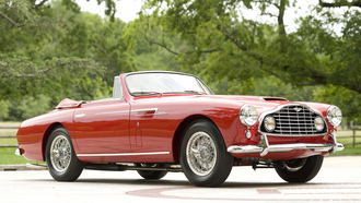 aston martin, retro car, bertone design, 1953, машина, db2 4 cabriolet