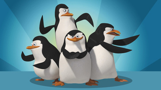 penguins, madagascar, четыре, the penguins madagascar